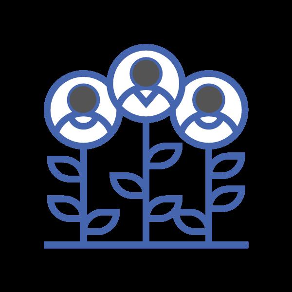 Líderes empresariales que buscan crecer su empresa, su flujo de efectivo y rentabilidad.